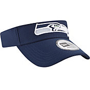 New Era Men's Seattle Seahawks 2017 Training Camp Navy Adjustable Visor