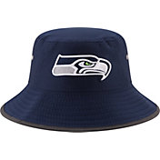 New Era Men's Seattle Seahawks 2017 Training Camp Navy Bucket Hat