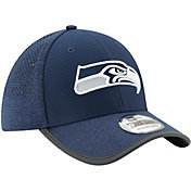 New Era Men's Seattle Seahawks 2017 Training Camp 39Thirty Navy Flex Hat