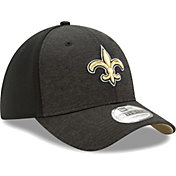 New Era Men's New Orleans Saints Shadow 39Thirty Stretch Fit Hat