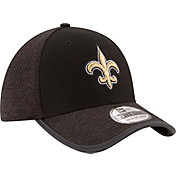 New Era Men's New Orleans Saints 2017 Training Camp 39Thirty Black Flex Hat