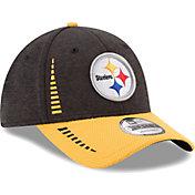 New Era Men's Pittsburgh Steelers Speed Tech 9Forty Adjustable Hat