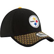 New Era Men's Pittsburgh Steelers Sideline 2017 On-Field 39Thirty Flex Hat