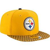 New Era Men's Pittsburgh Steelers Sideline 2017 On-Field 9Fifty Snapback Adjustable Hat