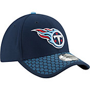 New Era Men's Tennessee Titans Sideline 2017 On-Field 39Thirty Flex Hat