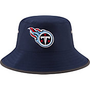 New Era Men's Tennessee Titans 2017 Training Camp Navy Bucket Hat