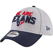 New Era Men's Houston Texans 2018 NFL Draft 39Thirty Stretch Fit Grey Hat