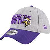 New Era Men's Minnesota Vikings 2018 NFL Draft 39Thirty Stretch Fit Grey Hat