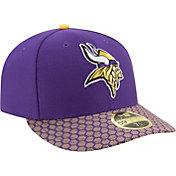 New Era Men's Minnesota Vikings Sideline 2017 On-Field 59Fifty Fitted Hat