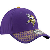 New Era Men's Minnesota Vikings Sideline 2017 On-Field 39Thirty Flex Hat