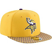New Era Men's Minnesota Vikings Sideline 2017 On-Field 9Fifty Snapback Adjustable Hat
