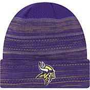 New Era Men's Minnesota Vikings Sideline 2017 On-Field TD Knit Hat
