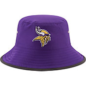 New Era Men's Minnesota Vikings 2017 Training Camp Purple Bucket Hat