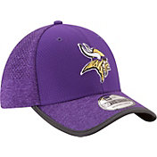 New Era Men's Minnesota Vikings 2017 Training Camp 39Thirty Purple Flex Hat