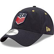 New Era Men's USA 9Twenty Snake Crest Navy Adjustable Hat