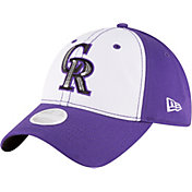 New Era Women's Colorado Rockies 9Twenty Essential Purple Adjustable Hat