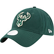 New Era Women's Milwaukee Bucks 9Twenty Glisten Adjustable Hat