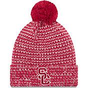 New Era Women's USC Trojans Cardinal Frosty Cuffed Knit Beanie