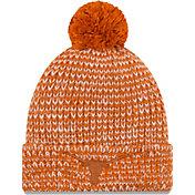 New Era Women's Texas Longhorns Burnt Orange Frosty Cuffed Knit Beanie