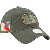 New Era Women's Cincinnati Bengals Salute to Service 2017 9Twenty Adjustable Hat