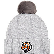 New Era Women's Cincinnati Bengals Toasty Grey Knit