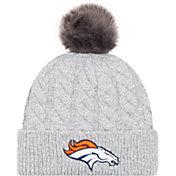 New Era Women's Denver Broncos Toasty Grey Knit