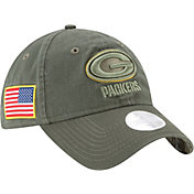 New Era Women's Green Bay Packers Salute to Service 2017 9Twenty Adjustable Hat