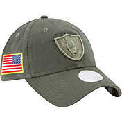 New Era Women's Oakland Raiders Salute to Service 2017 9Twenty Adjustable Hat