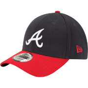 New Era Youth Atlanta Braves 39Thirty Stretch Fit Hat