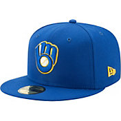 New Era Youth Milwaukee Brewers 59Fifty Cooperstown Royal Authentic Hat