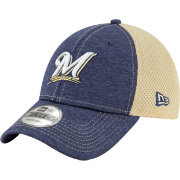 New Era Youth Milwaukee Brewers 9Forty Shadow Tech Adjustable Hat