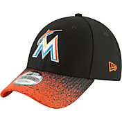 New Era Youth Miami Marlins 9Forty Visor Blur Adjustable Hat