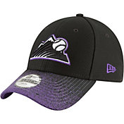 New Era Youth Colorado Rockies 9Forty Visor Blur Adjustable Hat