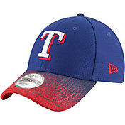 New Era Youth Texas Rangers 9Forty Visor Blur Adjustable Hat
