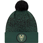 New Era Youth Milwaukee Bucks On-Court Knit Hat