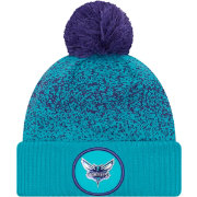 New Era Youth Charlotte Hornets On-Court Knit Hat