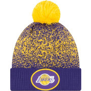 New Era Youth Los Angeles Lakers On-Court Knit Hat