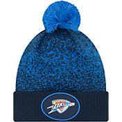 New Era Youth Oklahoma City Thunder On-Court Knit Hat