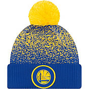 New Era Youth Golden State Warriors On-Court Knit Hat