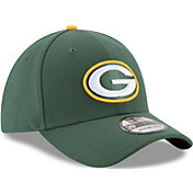 New Era Toddler Green Bay Packers Junior Team Classic 39Thirty Stretch Fit Hat