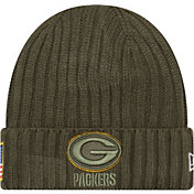 New Era Youth Green Bay Packers Salute to Service 2017 Knit Hat