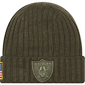 New Era Youth Oakland Raiders Salute to Service 2017 Knit Hat