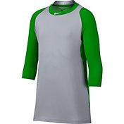 Nike Men's Pro Cool Reglan ¾-Sleeve Baseball Shirt