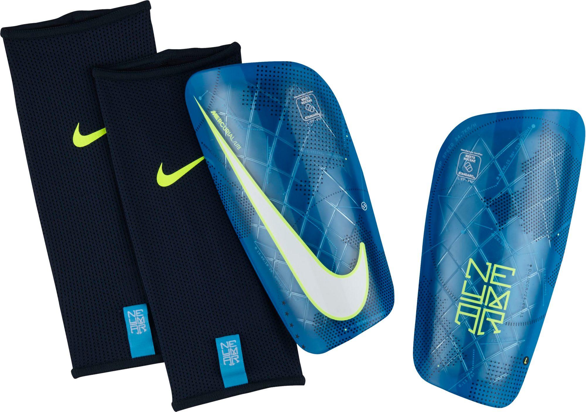 ... Nike Adult Neymar Mercurial Lite Soccer Shin Guards DICKS . b10de3865d16