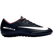 Nike Kids' MercurialX Victory VI Turf Soccer Cleats