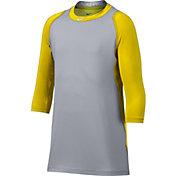 Nike Boys' Pro Cool ¾-Sleeve Baseball Shirt