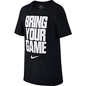Nike Boys' Dry Bring Your Game Graphic T-Shirt