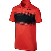 Nike Boys' Breathe Performance Golf Polo