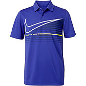 Nike Boys' Victory Graphic Golf Polo