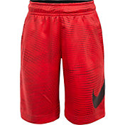 Nike Little Boys' Dri-FIT Logo Print Shorts
